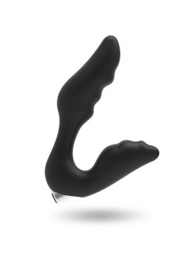 ADDICTED TOYS VIBROMASSEUR PROSTATE BLACK RECHARGEABLE