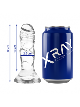 XRAY CLEAR COCK 12CM X 2.6CM