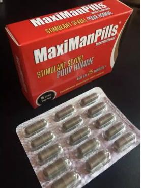 MaxiManPills 15 gélules