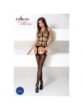 BS049 Bodystocking - Noir