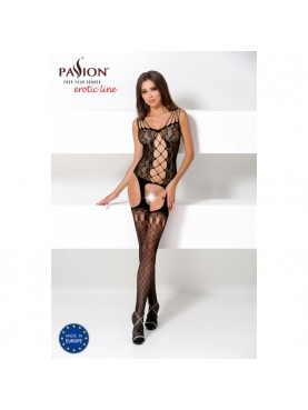 BS056B Bodystocking - Noir