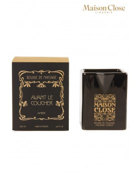 Bougie de massage Ambre - Maison Close