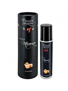 Huile de massage caramel  - Plaisirs Secrets