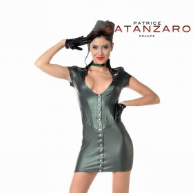 Robe Aka Kaki- Patrice Catanzaro