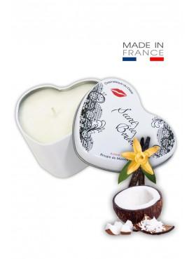 Bougie de massage gourmande Coco vanille