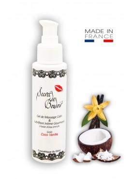 Gel de Massage Lubrifiant Gourmand Coco Vanille